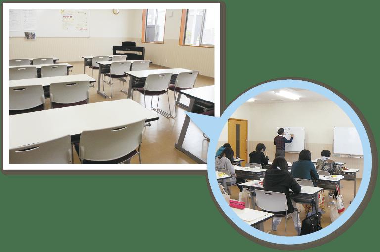 ひまわり幼児教育専門学院 講義室2