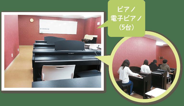 ひまわり幼児教育専門学院 音楽演習室