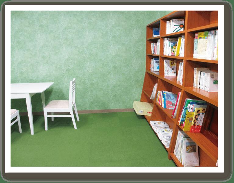 ひまわり幼児教育専門学院 図書室