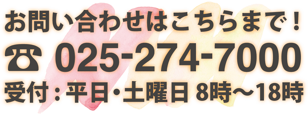 ひまわり幼児教育専門学院 TEL 025-274-7000