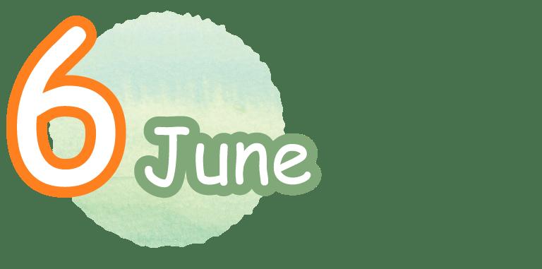 6 June